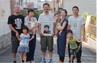 今家 賢蔵(65歳)順子(享年65歳) 真由美 美奈子